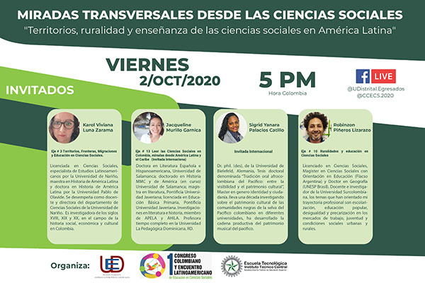 Amplía tus conocimientos sobre territorios, ruralidad y ciencias sociales en América Latina