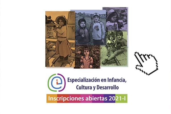 Abiertas inscripciones para la Especialización en Infancia, Cultura y Desarrollo