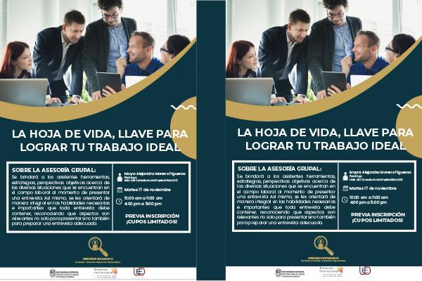 Nueva asesoría grupal del Consultorio de Empleabilidad UD