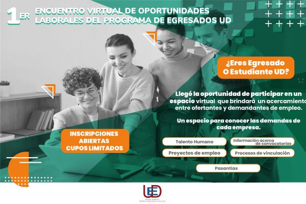 Inscripciones abiertas para participar en el 1er Encuentro Virtual de Oportunidades Laborales