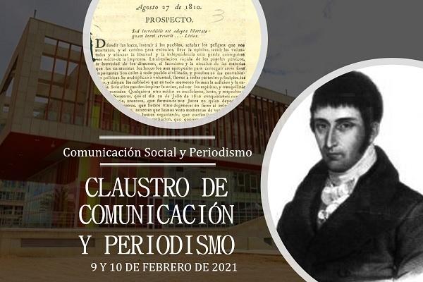 Llega en febrero el Claustro de Comunicación y Periodismo
